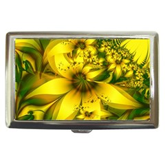 Beautiful Yellow-green Meadow Of Daffodil Flowers Cigarette Money Cases by jayaprime