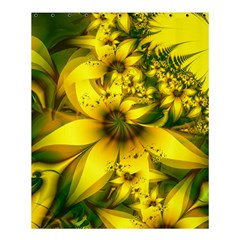 Beautiful Yellow Green Meadow Of Daffodil Flowers Shower Curtain 60  X 72  (medium)  by jayaprime