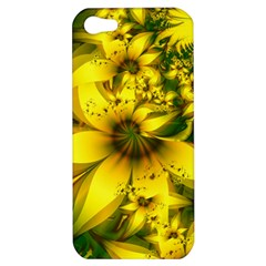 Beautiful Yellow Green Meadow Of Daffodil Flowers Apple Iphone 5 Hardshell Case by jayaprime