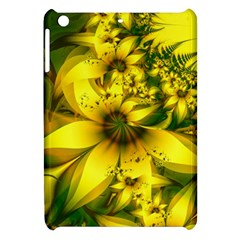 Beautiful Yellow Green Meadow Of Daffodil Flowers Apple Ipad Mini Hardshell Case by jayaprime