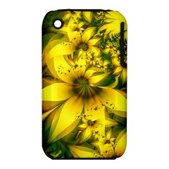 Beautiful Yellow Green Meadow Of Daffodil Flowers Iphone 3s/3gs by jayaprime
