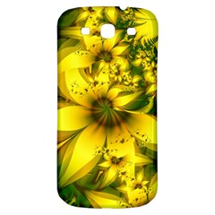 Beautiful Yellow Green Meadow Of Daffodil Flowers Samsung Galaxy S3 S Iii Classic Hardshell Back Case by jayaprime