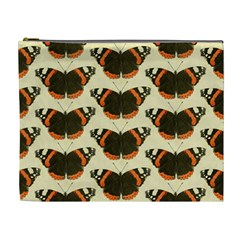 Butterfly Butterflies Insects Cosmetic Bag (xl) by Celenk