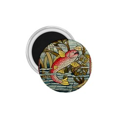 Fish Underwater Cubism Mosaic 1 75  Magnets by Celenk