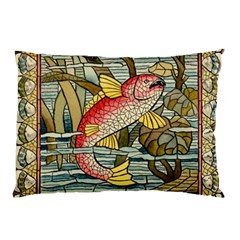 Fish Underwater Cubism Mosaic Pillow Case (two Sides)