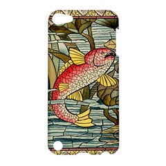 Fish Underwater Cubism Mosaic Apple Ipod Touch 5 Hardshell Case by Celenk