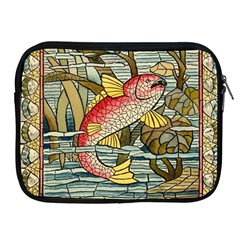 Fish Underwater Cubism Mosaic Apple Ipad 2/3/4 Zipper Cases by Celenk