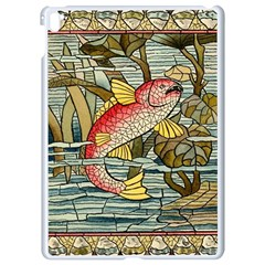 Fish Underwater Cubism Mosaic Apple Ipad Pro 9 7   White Seamless Case by Celenk