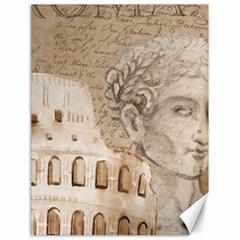 Colosseum Rome Caesar Background Canvas 18  X 24