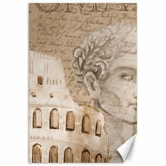 Colosseum Rome Caesar Background Canvas 20  X 30   by Celenk