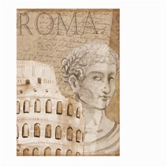 Colosseum Rome Caesar Background Large Garden Flag (two Sides) by Celenk