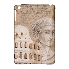 Colosseum Rome Caesar Background Apple Ipad Mini Hardshell Case (compatible With Smart Cover) by Celenk
