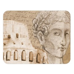 Colosseum Rome Caesar Background Double Sided Flano Blanket (large)  by Celenk