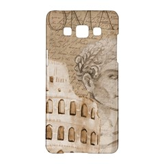 Colosseum Rome Caesar Background Samsung Galaxy A5 Hardshell Case  by Celenk