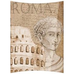Colosseum Rome Caesar Background Back Support Cushion