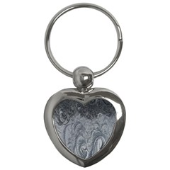 Abstract Art Decoration Design Key Chains (heart)  by Celenk