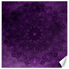Background Purple Mandala Lilac Canvas 20  X 20   by Celenk