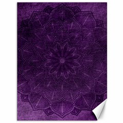 Background Purple Mandala Lilac Canvas 36  X 48   by Celenk