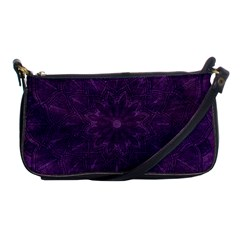 Background Purple Mandala Lilac Shoulder Clutch Bags by Celenk
