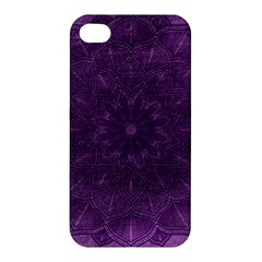 Background Purple Mandala Lilac Apple Iphone 4/4s Hardshell Case by Celenk