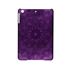 Background Purple Mandala Lilac Ipad Mini 2 Hardshell Cases by Celenk