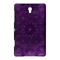 Background Purple Mandala Lilac Samsung Galaxy Tab S (8 4 ) Hardshell Case  by Celenk