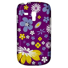 Floral Flowers Galaxy S3 Mini by Celenk