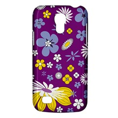 Floral Flowers Galaxy S4 Mini by Celenk