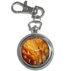 Flowers Leaves Leaf Floral Summer Key Chain Watches by Celenk