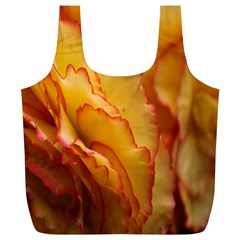Flowers Leaves Leaf Floral Summer Full Print Recycle Bags (l)  by Celenk
