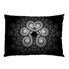 Fractal Filigree Lace Vintage Pillow Case by Celenk