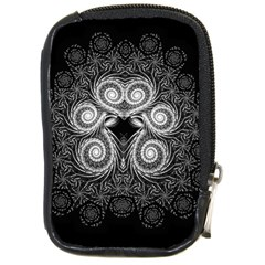 Fractal Filigree Lace Vintage Compact Camera Cases by Celenk