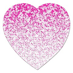 Halftone Dot Background Pattern Jigsaw Puzzle (heart) by Celenk