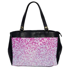Halftone Dot Background Pattern Office Handbags by Celenk