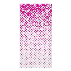 Halftone Dot Background Pattern Shower Curtain 36  X 72  (stall)  by Celenk