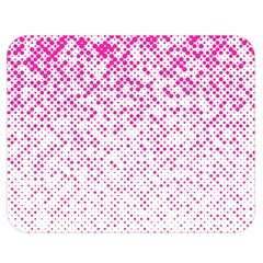 Halftone Dot Background Pattern Double Sided Flano Blanket (medium)  by Celenk