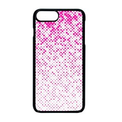 Halftone Dot Background Pattern Apple Iphone 8 Plus Seamless Case (black) by Celenk