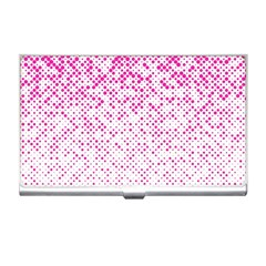 Halftone Dot Background Pattern Business Card Holders by Celenk