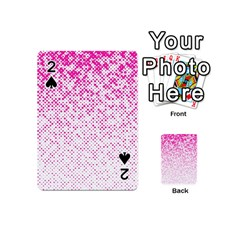 Halftone Dot Background Pattern Playing Cards 54 (mini)  by Celenk