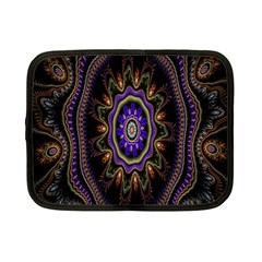 Fractal Vintage Colorful Decorative Netbook Case (small)  by Celenk