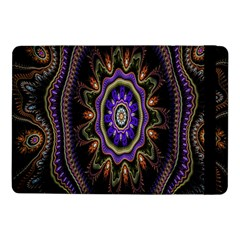 Fractal Vintage Colorful Decorative Samsung Galaxy Tab Pro 10 1  Flip Case by Celenk