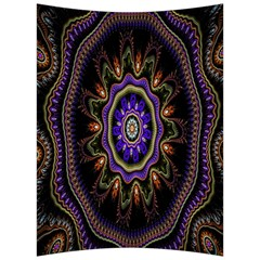 Fractal Vintage Colorful Decorative Back Support Cushion by Celenk