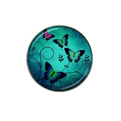 Texture Butterflies Background Hat Clip Ball Marker (10 Pack) by Celenk