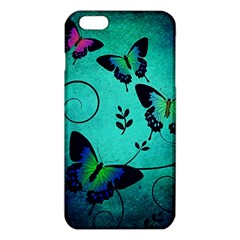 Texture Butterflies Background Iphone 6 Plus/6s Plus Tpu Case by Celenk