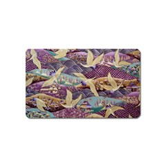 Textile Fabric Cloth Pattern Magnet (name Card)