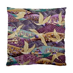Textile Fabric Cloth Pattern Standard Cushion Case (one Side)