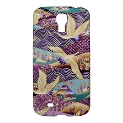 Textile Fabric Cloth Pattern Samsung Galaxy S4 I9500/i9505 Hardshell Case by Celenk