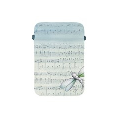 Vintage Blue Music Notes Apple Ipad Mini Protective Soft Cases by Celenk