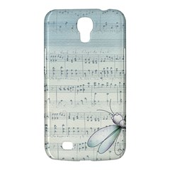 Vintage Blue Music Notes Samsung Galaxy Mega 6 3  I9200 Hardshell Case by Celenk