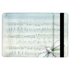 Vintage Blue Music Notes Ipad Air Flip